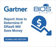 gartner bios middle east disaster recovery report